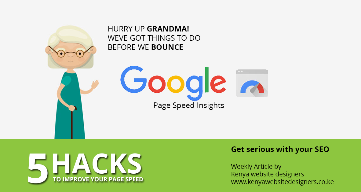 5 Hacks to improve your page speed